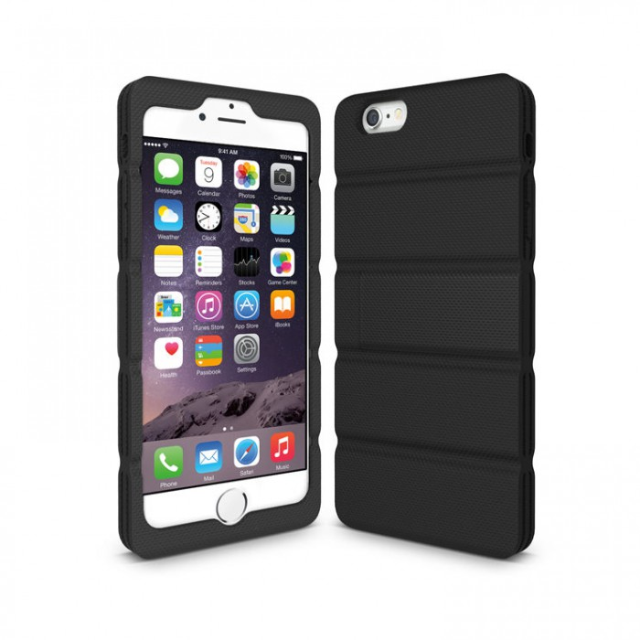 Iluv Ai6playu Layup Rugged Case With Polycarbonat And Silicon For Iphone 6 Plus