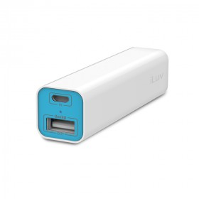 iLuv MYPOWER26 2600mah PORTABLE CHARGER FOR MOBILE & OTHER DIGITAL DEVICES WITH 1 USB PORT