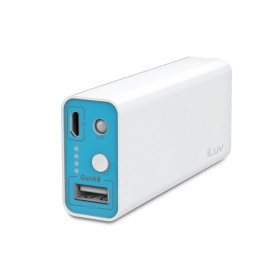 iLuv MYPOWER52  5200mah PORTABLE USB Port Charger Battery Pack Power Bank WITH 1 USB PORT