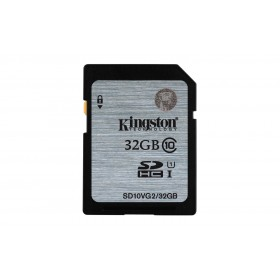 Kingston SD10VG2/32GB SDHC Memory Card 32GB, Class 10, UHS-I