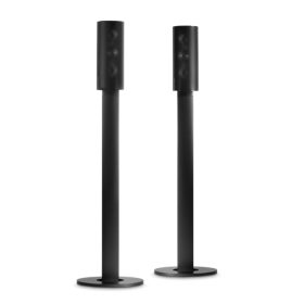 Harman Kardon HTFS 2BQ/E Pair of Speaker Stands for Home Theater Speakers - Black