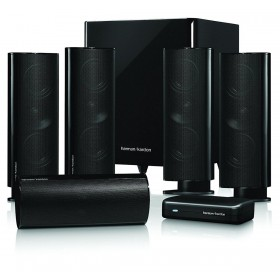 Harman Kardon HKTS 65BQ/230 5.1-channel, home theater speaker system with wireless subwoofer