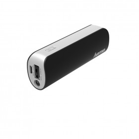 Hama 00173223 Pipe Power Pack, 2600 mAh, black/grey