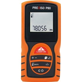 Prexiso P80 Laser Distance Meter up to 80 M with 2× AAA battery