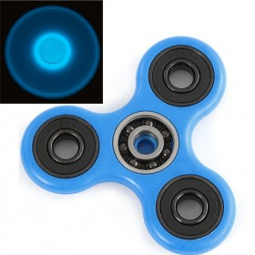Radioshack LMM-8149 Fidget Spinner Luminous Version, Blue