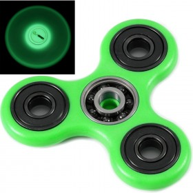 Radioshack LMM-8149 Fidget Spinner Luminous Version, Green