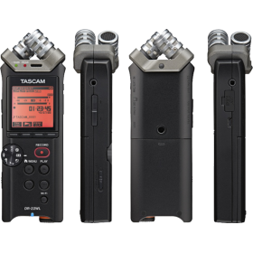 Tascam DR-22WL PORTABLE RECORDER WITH WIFI Technology and MicroSD SLOT UP TO 128GB
