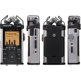 Tascam DR-44WL PORTABLE RECORDER WITH WIFI Technology and SD Card SLOT UP TO 128GB