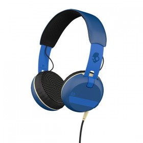 Skullcandy S5GRHT-454 Grind Headset with microphone , ILL Famed Royal Blue