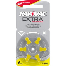 RAYOVAC Size 10 H.A BATTERY EXTRA 6 CELL