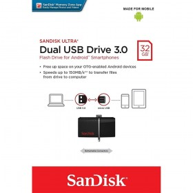 SANDISK (SDDD2-016G-GAM46) OTG FLASH DRIVE USB3 16GB