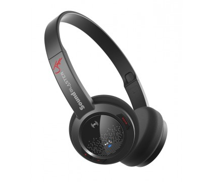 Creative GH0300 Sound Blaster Jam Ultra Light Wireless Bluetooth Headset for Comfort and Portable Playback, Black