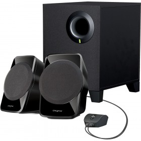 Creative SBS A120 2.1 Channel Multimedia Laptop/Desktop Speaker System (Black)