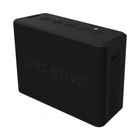Creative MUVO 2c Palm-sized Water-resistant Bluetooth® Speaker with Built-in MP3 Player, Black, 51MF8250AA000