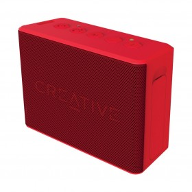 Creative MUVO 2c Palm-sized Water-resistant Bluetooth® Speaker with Built-in MP3 Player, Red, 51MF8250AA001