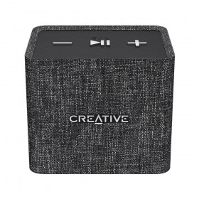 Creative NUNO micro Cube-sized Portable Bluetooth® Speaker, Black, 51MF8265AA000