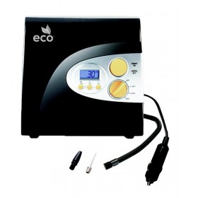 Eco D-1 Digital Car Air Compressors and Tire Inflators, Time 3.30 mins - Black