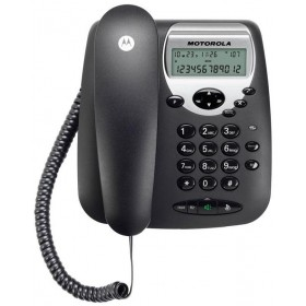 Motorola CT2 Corded Landline Phone (Black)