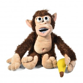MITTOZA Electronic Stuffed Crying Monkey with Banana