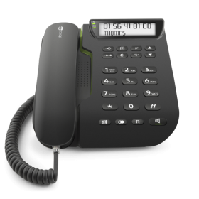 Doro Comfort 3000 EASY TO USE CORDED PHONE BALCK