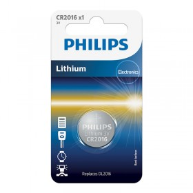 Philips CR2016/01B Minicells Battery