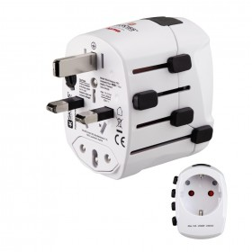 HAMA 00137380 SKROSS WORLD USB WORLD TRAVEL ADAPTER PLUG 3 PINS