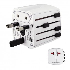 HAMA 00137381 SKROSS WORLD USB WORLD TRAVEL ADAPTER PLUG 2 PINS