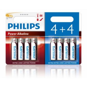 Philips LR6P8BP/10 AA Alkaline Battery