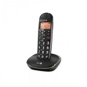Doro PE100WBLK amplified Cordless telephones black