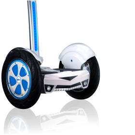 Airwheel S3 AWS3W self-balancing electric scooter WHT-BLU+STICK