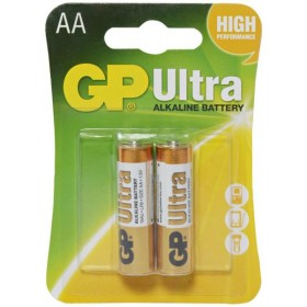 GP 15AU  Ultra Alkaline Battteries (AA) - 2 Pack