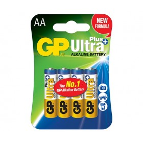 GP15AUP   Ultra Plus Alkaline Battteries (AA) - 4 Pack
