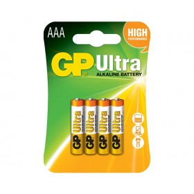 GP 24AU  Ultra Alkaline Battteries (AAA) - 4 Pack