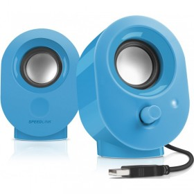 SPEEDLINK SL-8001-BE SNAPPY 2.0 SPEAKERS, BLUE