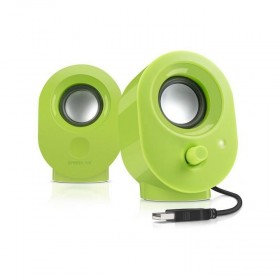 SPEEDLINK SL-8001-GN SNAPPY 2.0 SPEAKERS, GREEN