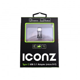 Iconz IMN-UAMC01K Adapter Type C USB 3.1 (Micro B-C)
