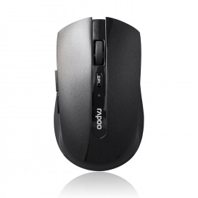 Rapoo 7200P 5GHz Wireless Optical Mouse Black, 5 Buttons