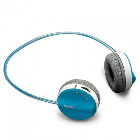 Rapoo H6020 Fashion Bluetooth Stereo Wireless Headset Built-in Microphone, Blue