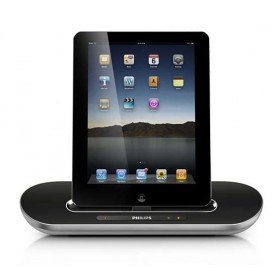 Philips DS7700/10 docking speaker with Bluetooth® for iPod/iPhone/iPad, Silver