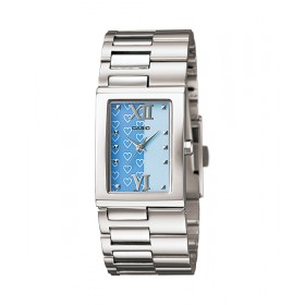 Casio LTP-1316D-2ADF+K Ladies Silver Stainless-Steel Quartz Watch