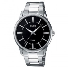 Casio MTP-1303D-1A+K Analog Black Dial Stainless Steel Men Watch