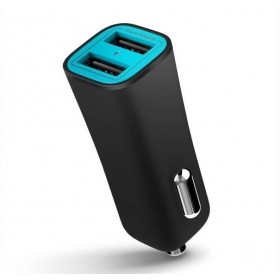 iLuv MOBISEAL2BK Smart USB 2 ports car charger , 5V/3.4A