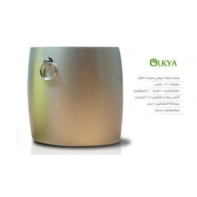 Olkya mini G-prod Bolt Mini Blutooth Speaker With Superior Sound , Silver
