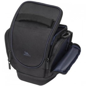 Riva 7202 HOLSTER CASE SLR WITH SIDE POCKETS BLACK, Series Ipanema, 6901801072026