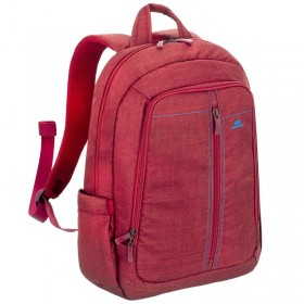 Riva 7560 Laptop Canvas Backpack 15.6 inch, Red, Series Aspen, 4260403570050