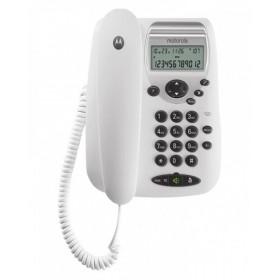 Motorola CT2 Corded Landline Phone (White)