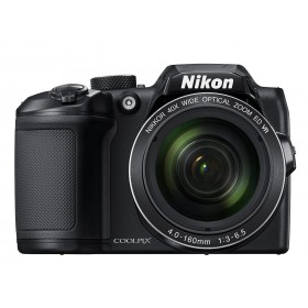 Nikon COOLPIX B500 16.1MP 40X 3 inch LCD AA + 8GB SD BLK, Built-in Wi-Fi, NFC and Bluetooth®4.0, SnapBridge