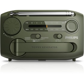 Philips Portable Radio AE1120 FM/MW, Analogue tuning Micro USB port for charging Flashlight Self-powered/ Battery operated