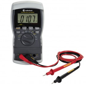 RadioShack True-RMS 46-Range Digital Multimeter