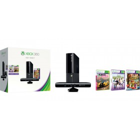 MICROSOFT XBOX 360 KINECT BUNDLE 4GB+ADV+SPORT+SPORTS2
